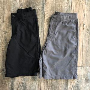 M Boys Under Armour Golf Shorts